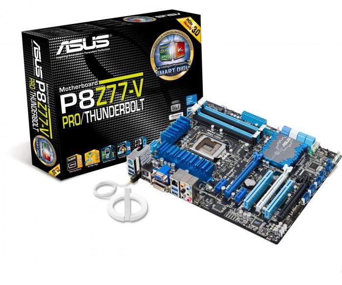 ASUS P8Z77-V PROP8Z77-V PRO_THUNDERBOLT_3D+color box