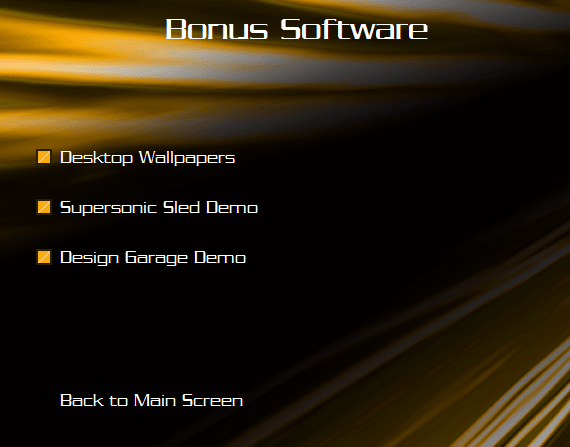 software bonus