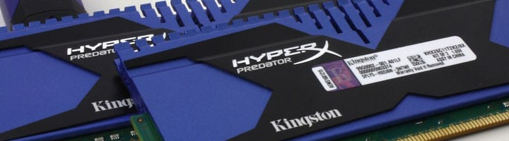 Kingston HyperX Predator 2666MHz 8GB Memory