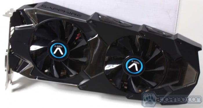 HD 7950 Vapor-X - The Card