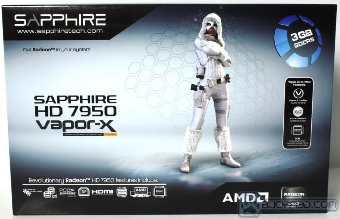 HD 7950 Vapor-X - Box Front