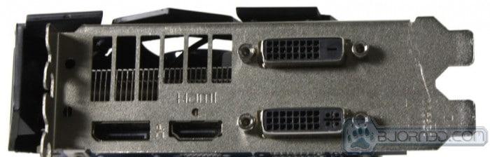 HD 7950 Vapor-X rear display outputs