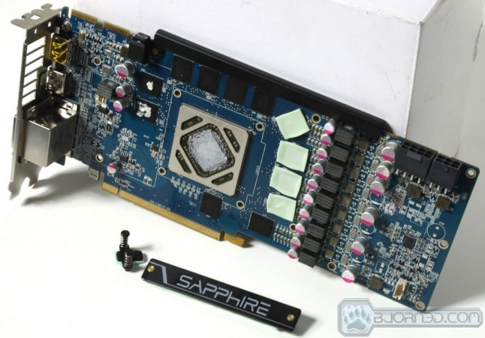 HD 7950 Vapor-X GPU - Bare Card