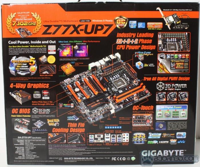 Z77X-UP7 Overclock
