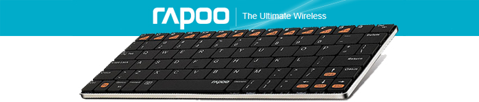 Rapoo E6300 Wireless Keyboard for iPad/iPhone