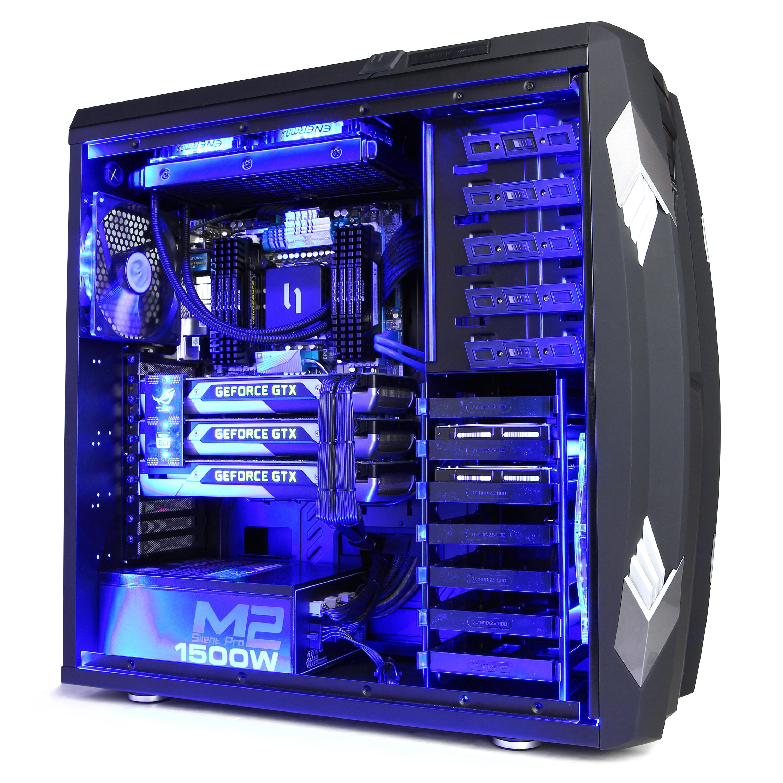 Cyberpowerpc Titan 3 way SLi Setup