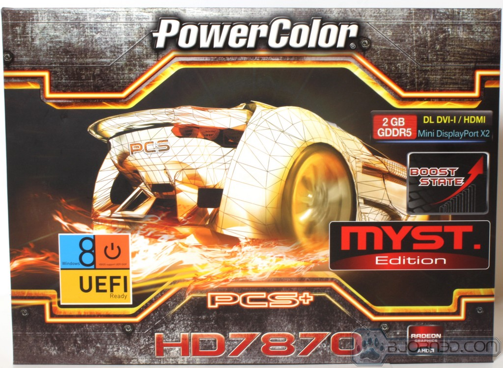 Powercolor HD7870 MYST1