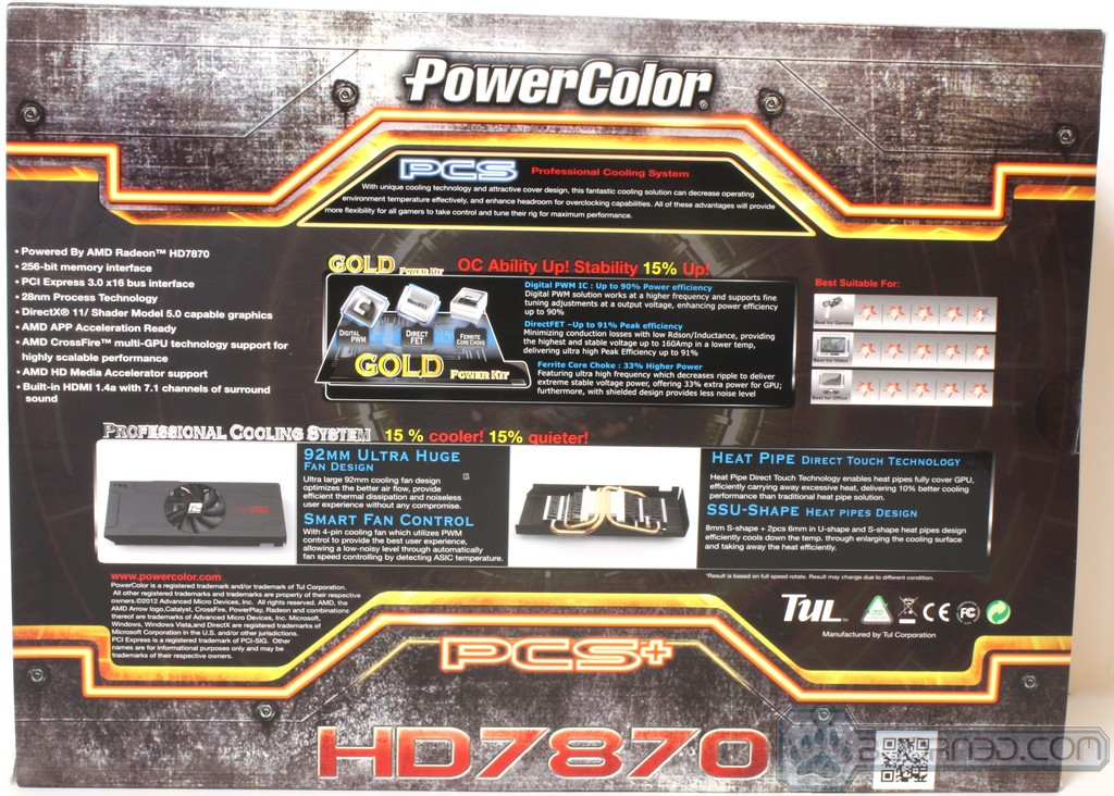 Powercolor HD7870 MYST2