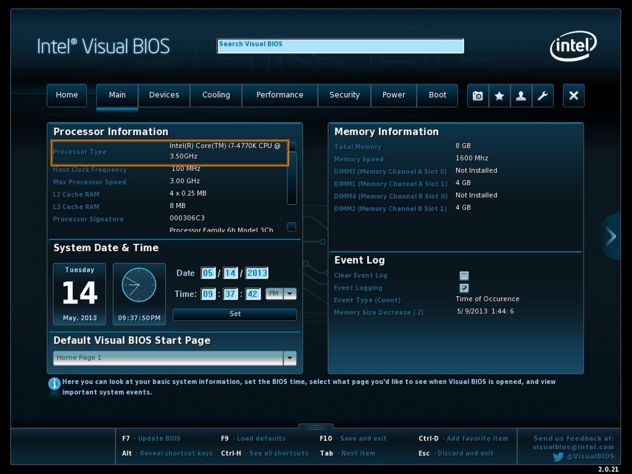 Z87 Intel BIOS11