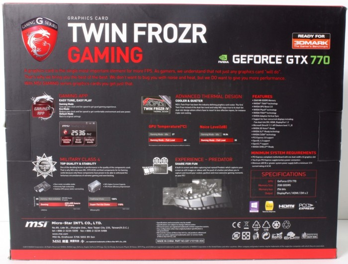 MSI GTX770 Gaming2