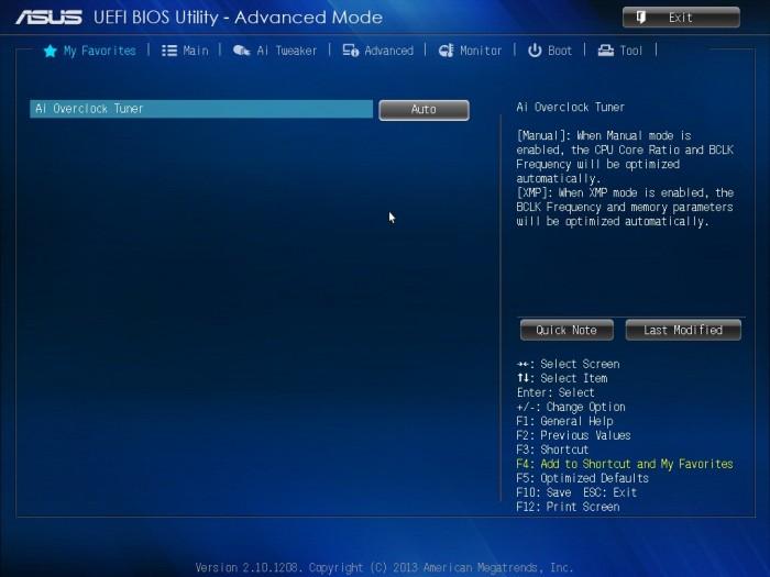 ASUS Z87-A BIOS5