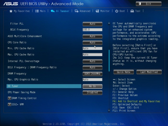 ASUS Z87-A BIOS8