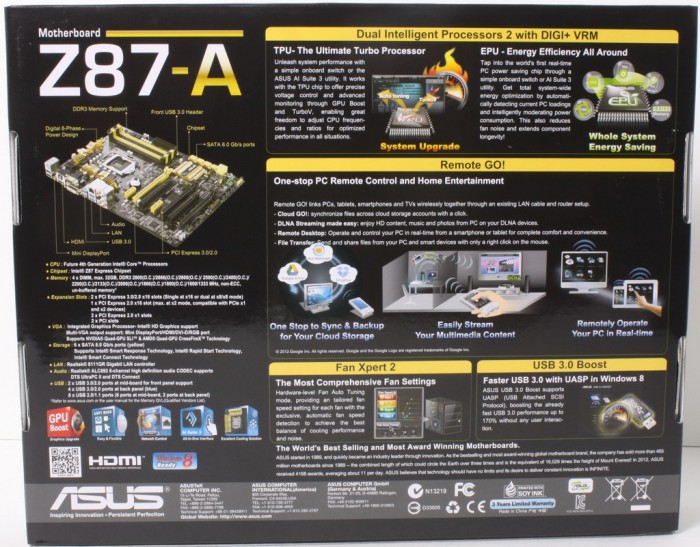 ASUS Z87-A2