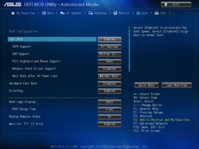 ASUS Z87-PRO BIOS12