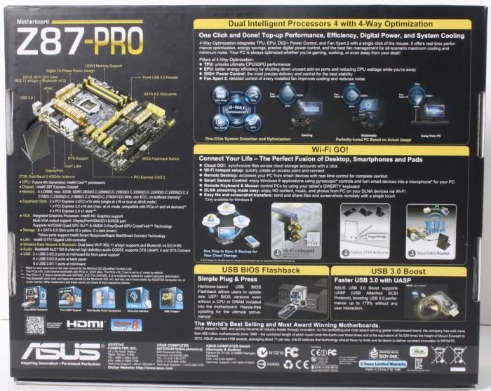 ASUS Z87-PRO2