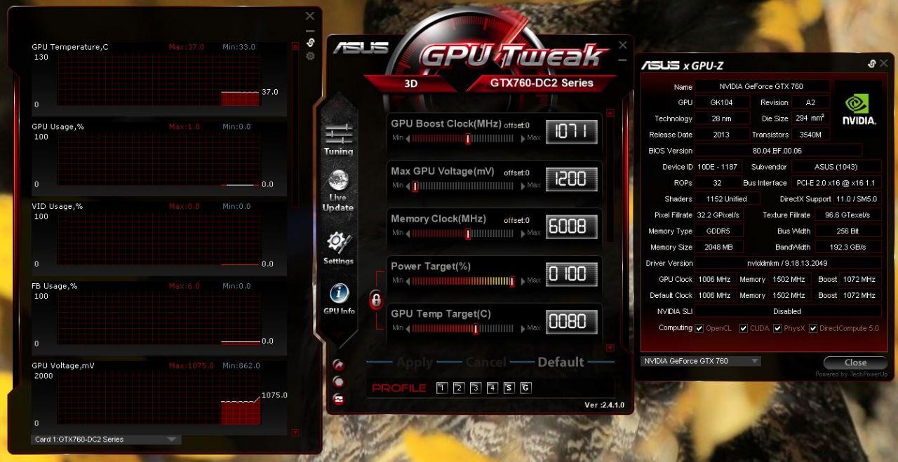 ASUS GTX 760 DirectCU II Graphics Card Review - Bjorn3D com