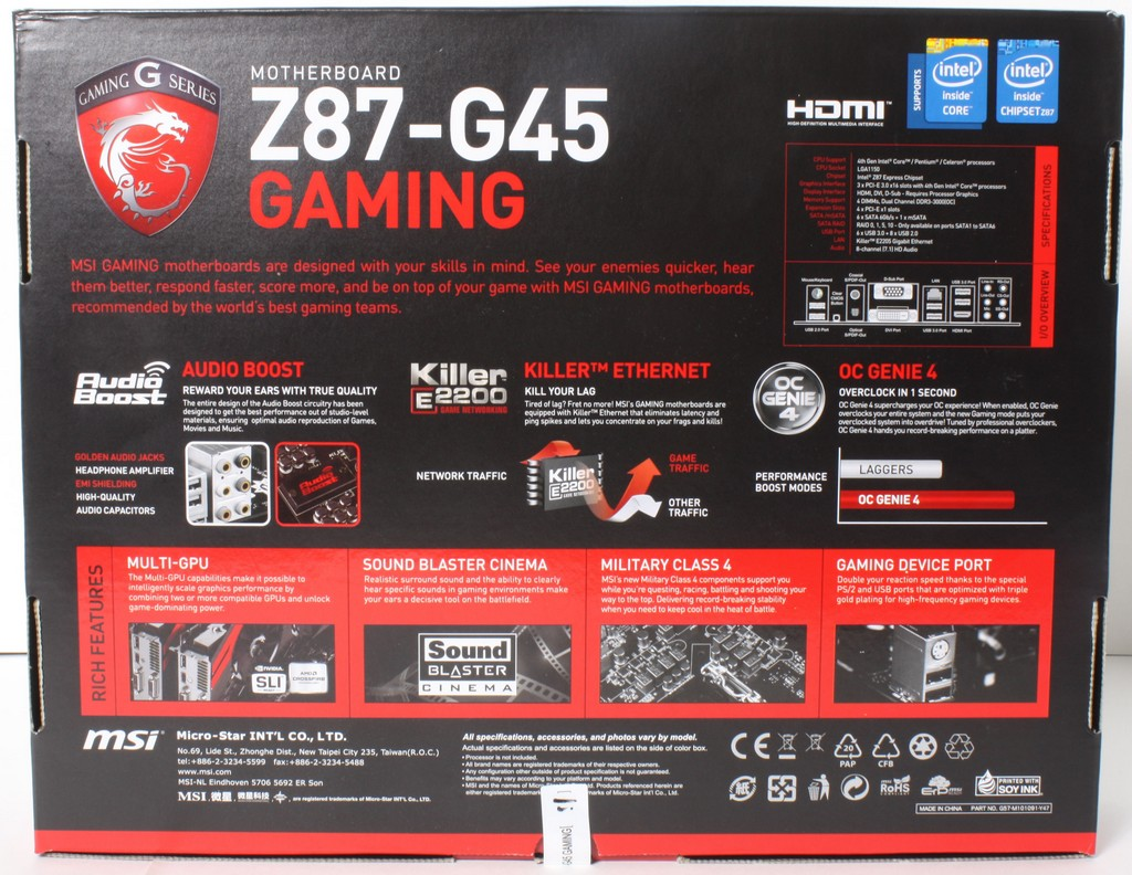 msi z87 g45 gaming manual