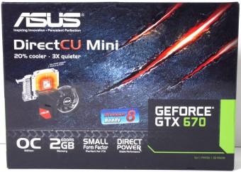 ASUS GTX 670 DCII Mini1