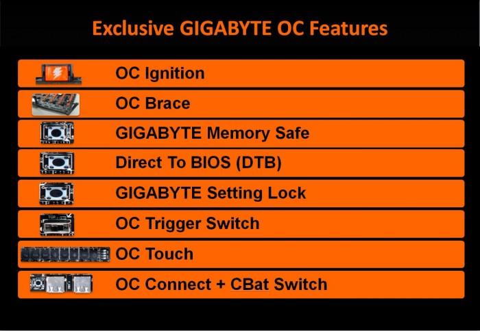 OC Features