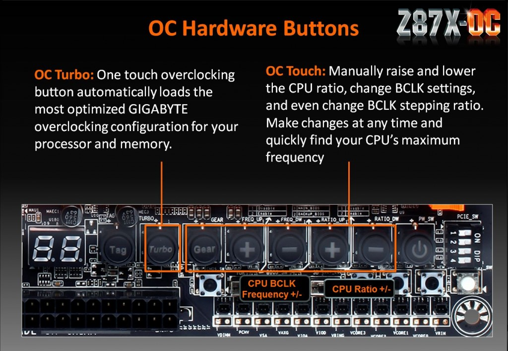 OC Hardware buttons