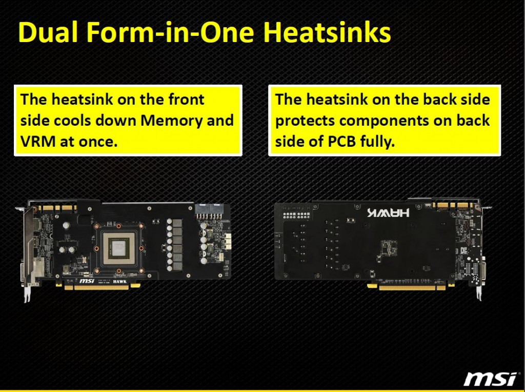 dual form in one heatsink