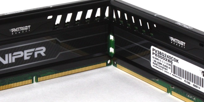 "Patriot Viper III 2400MHz ""Black Mamba"" Memory Kit Review"