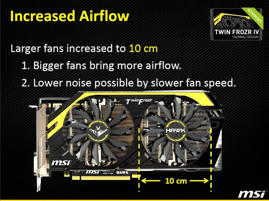 larger fans