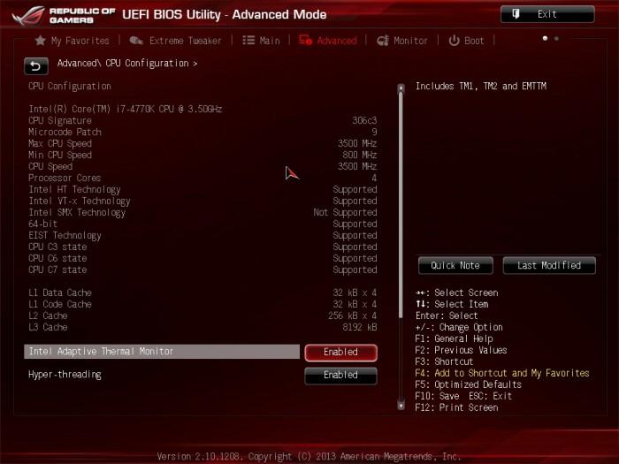 Maximus VI Formula BIOS19