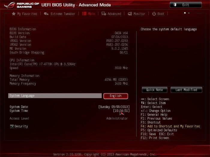 Maximus VI Impact BIOS12