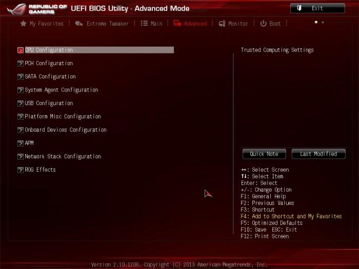 Maximus VI Impact BIOS13