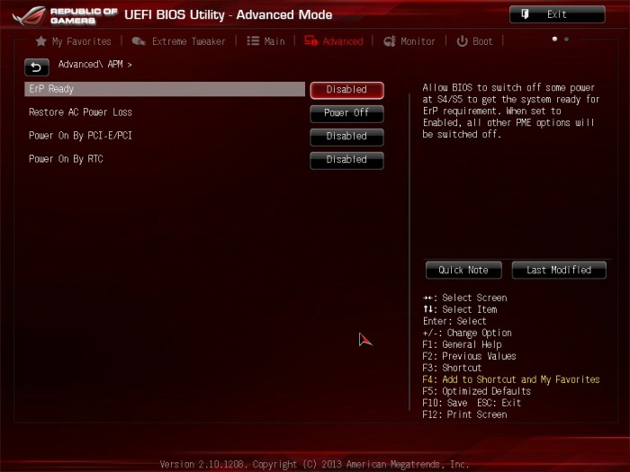 Maximus VI Impact BIOS16