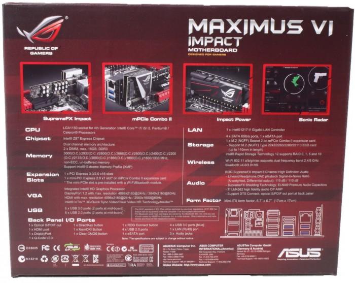 Maximus VI Impact3