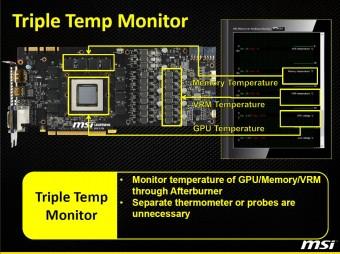 Triple Temp Monitor