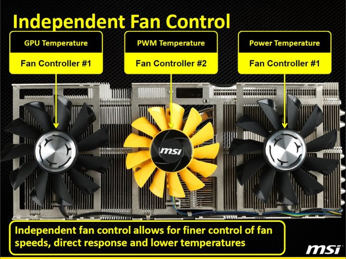 dual fan control