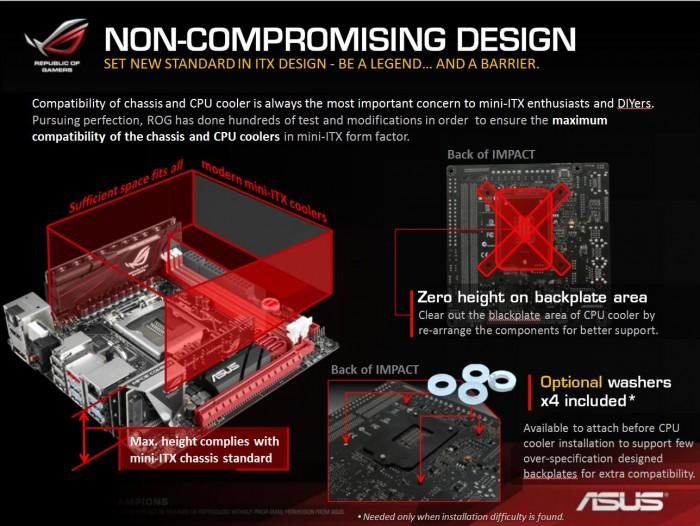 non compromise design
