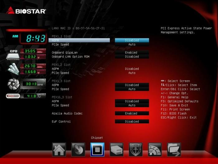 Biostar Z87X 3D BIOS7