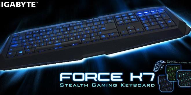 Gigabyte Stealth Force K7 Gaming Keyboard
