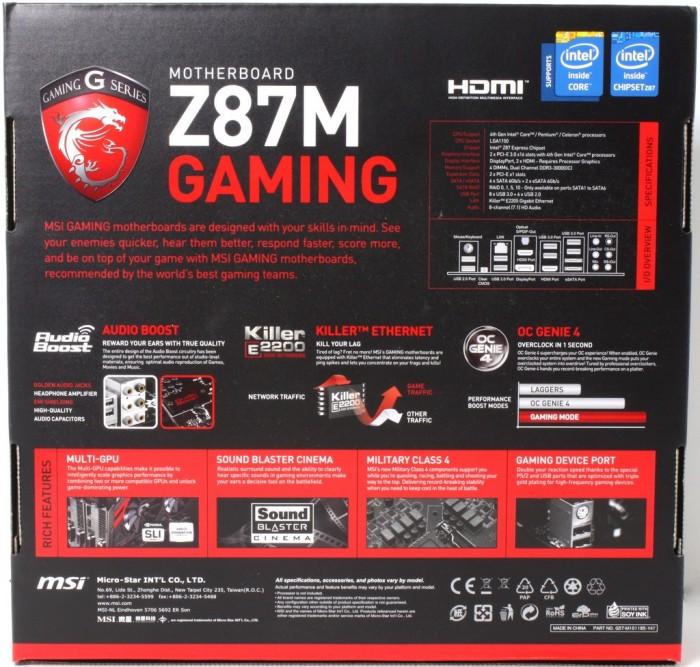 MSI Z87M Gaming2