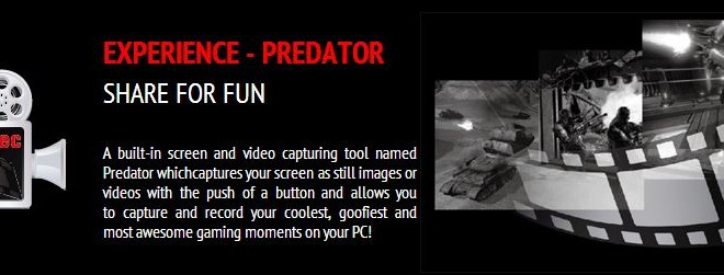 Predator recording