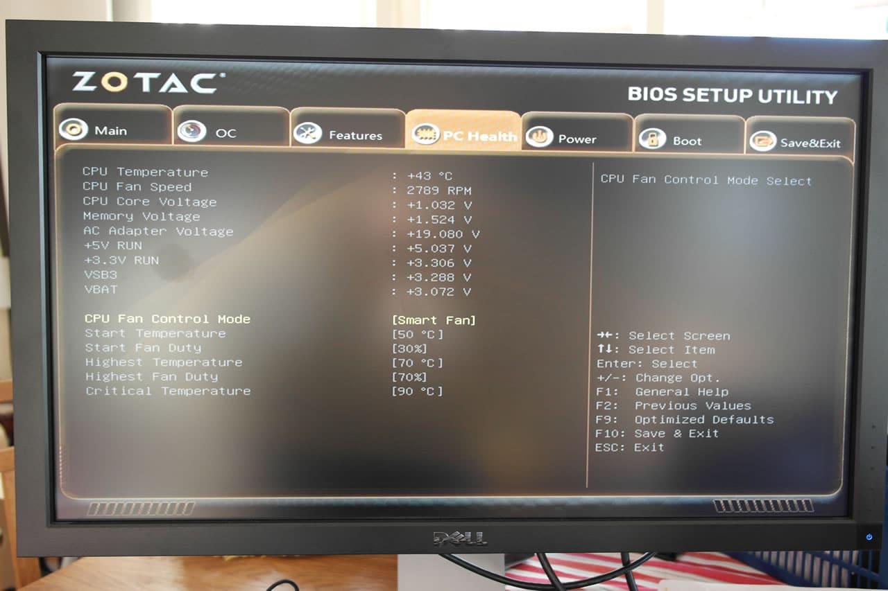 Zotac ZBOX nano AQ01 Plus ITE CIR Windows Vista 64-BIT