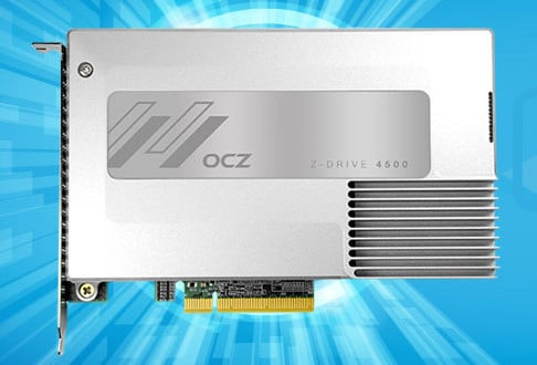 OCZ Storage Solutions Launches New Z-Drive 4500 PCIe SSD Series with Windows Accelerato​r (WXL) Software