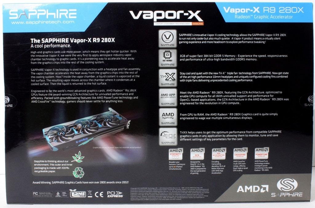 Sapphire R9 280X VaporX Graphics Card - Page 2 of 5 - Bjorn3D com