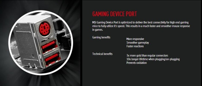 Gaming Device Ports