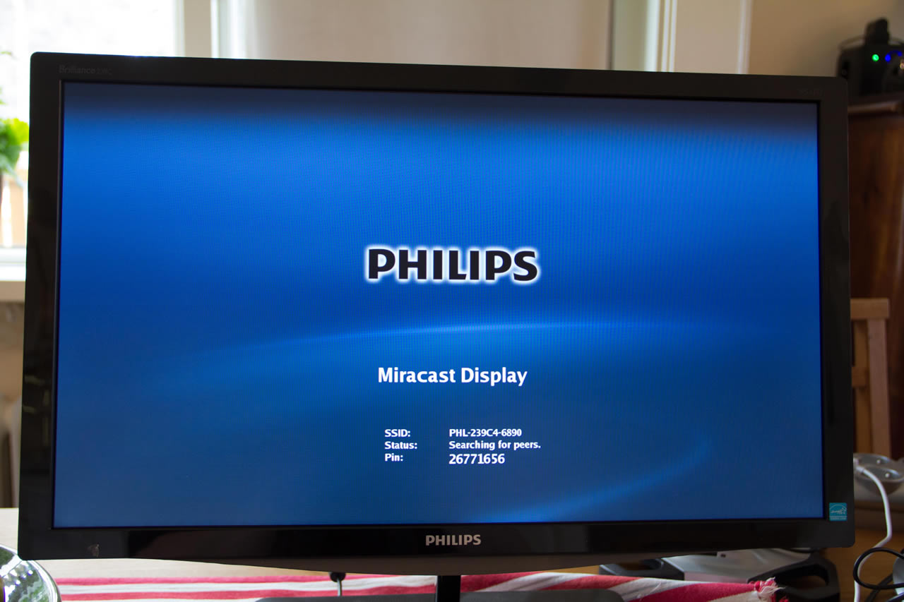 Philips Brilliance 239c4qhwab Miracast Enabled Monitor