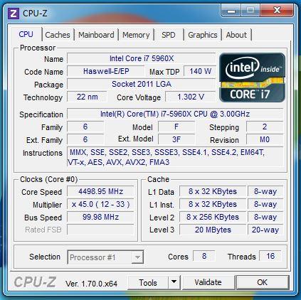 CPUZ 4500