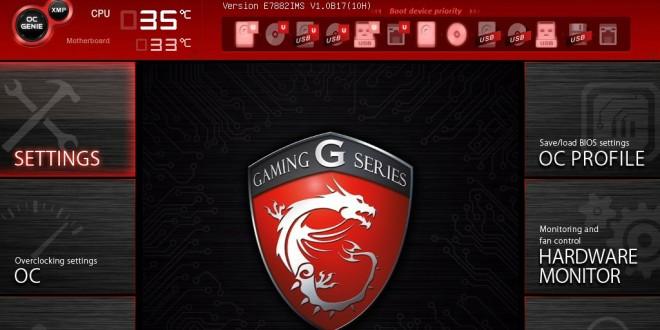 MSI X99S Gaming 9 BIOS 1