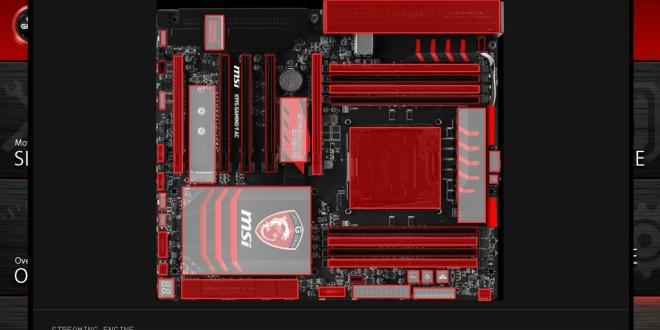 MSI X99S Gaming 9 BIOS 20