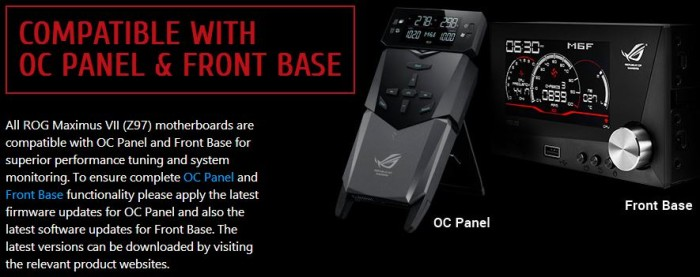 OCPanel Front Base