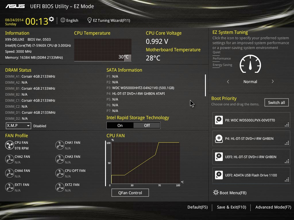 ASUS X99 Deluxe - A new look and features for ASUS X99! - Bjorn3D com
