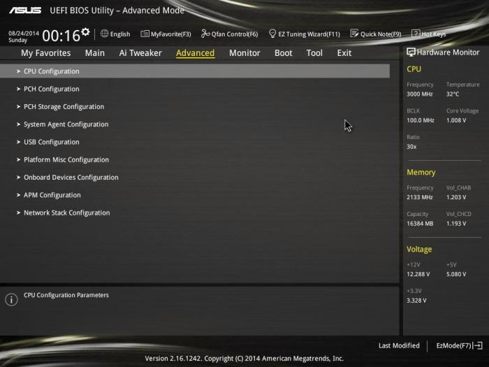 X99 Deluxe BIOS 15